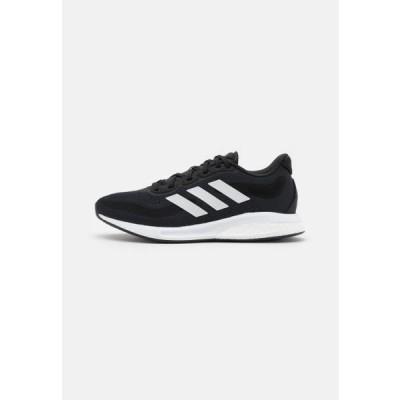 アディダス レディース スポーツ用品 SUPERNOVA - Neutral running shoes - core black/footwear white/halo silver