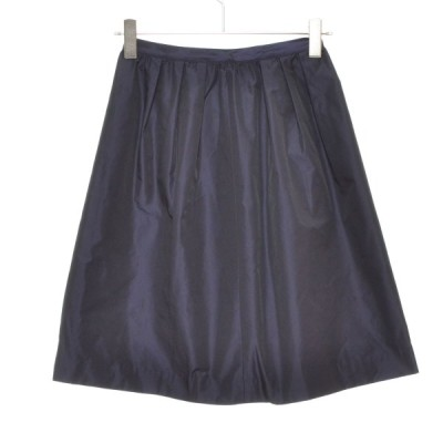 GLR UNITED ARROWS ユナイテッドアローズ スカート サイズ38 レディース ネイビー
