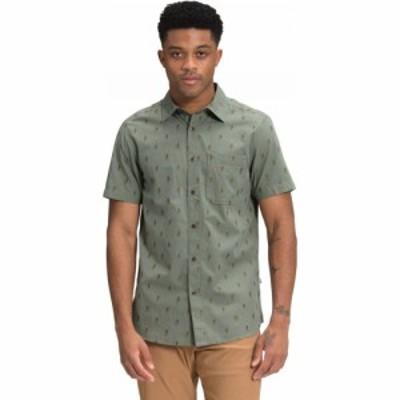 ザ ノースフェイス The North Face メンズ シャツ トップス Baytrail Jacquard Shirt Agave Green Hiker Clip Jacquard