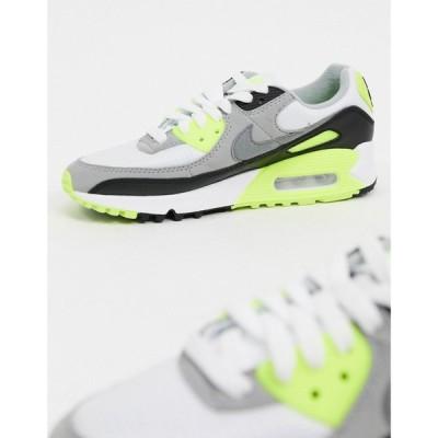 ナイキ Nike レディース スニーカー エアマックス 90 シューズ・靴 Air Max 90 trainers in white ホワイト