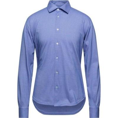 フェデーリ FEDELI メンズ シャツ トップス patterned shirt Maroon