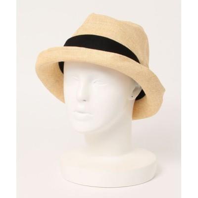 帽子屋ONSPOTZ / フェヌア レディース ハット FENUA PESHI クラッシュ加工 中折れ WOMEN 帽子 > ハット