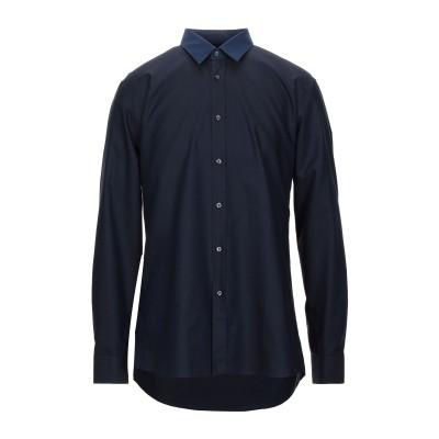 HUGO HUGO BOSS シャツ ダークブルー 41 コットン 100% シャツ