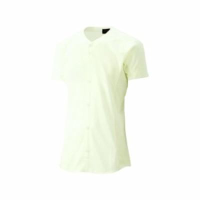 [ゴールドステージ]スクールブレードゲームシャツ(アイボリ)【ASICS】アシックス(BAS100-02)