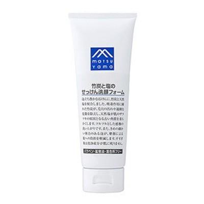 M-mark 竹炭と塩のせっけん洗顔フォーム 120g[配送区分:A]