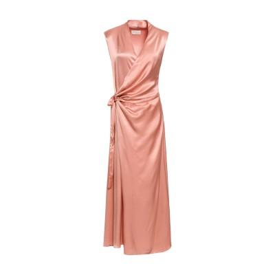 LES HÉROÏNES by VANESSA COCCHIARO ロングワンピース&ドレス ピンク 36 レーヨン 50% / レーヨン 50%