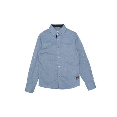 フレッド メロー FRED MELLO シャツ ブルーグレー 8 コットン 100% シャツ
