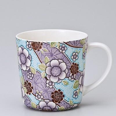 和食器 紅染 丸 マグカップ 青 カフェ コーヒー 紅茶 珈琲 お茶 オフィス おうち 食器 陶器 おしゃれ うつわ