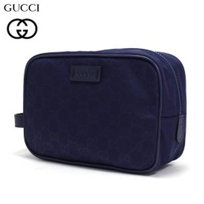 GUCCI セカンドバッグ クラッチバッグ メンズ GUCCI ポーチ ブルー系 GG柄 510338 K28AN 4275  【送料無料】