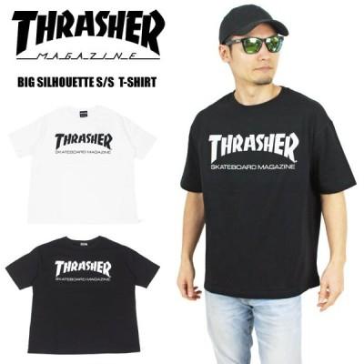 THRASHER MAG LOGO ビッグシルエット 半袖Tシャツ スラッシャー ゆうパケット1点まで送料無料 TH8101BS YPC