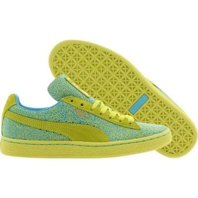 プーマ Puma レディース スニーカー シューズ・靴 x Solange uede Classic Lines yellow/sulphur spring/blue atoll
