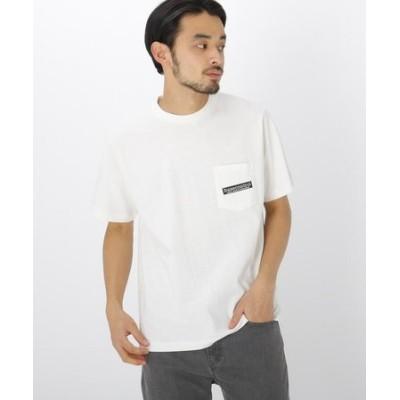 バック サークル ロゴ  半袖  Tシャツ