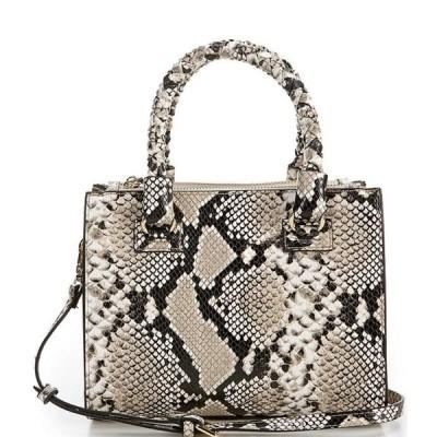 ジャンビニ レディース ハンドバッグ バッグ Mia Snake Printed Satchel Bag