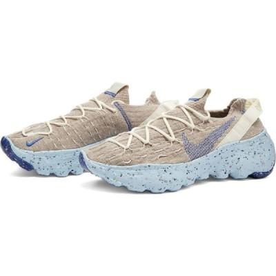 ナイキ Nike レディース スニーカー シューズ・靴 Space Hippie 04 W Sail/Blue/Fossil