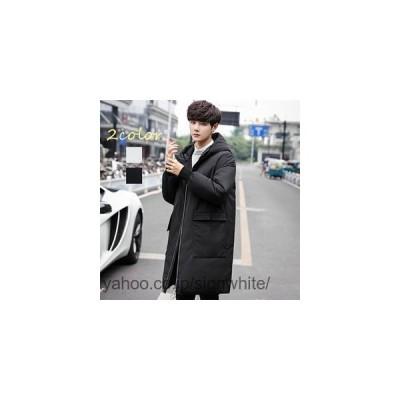 ダウンジャケット メンズ 軽量 ダウンコート 冬物 冬服 アウター 大きいサイズ 黒 ホワイト ブラック フード付き 防寒 激安 彼氏 男性 M L XL XXL 3XL