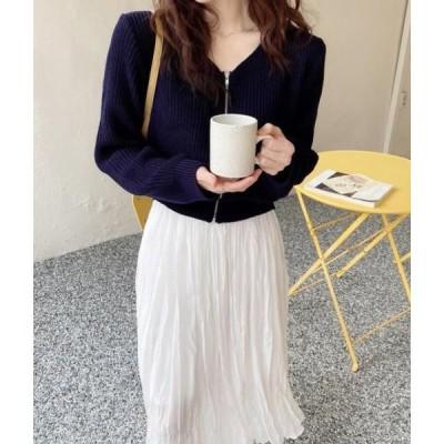 monodaily レディース ニット/セーター Benezip Knitwear