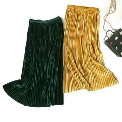 スカートの女性の高品質の新しいプリーツスカートファッション韓国語バージョン