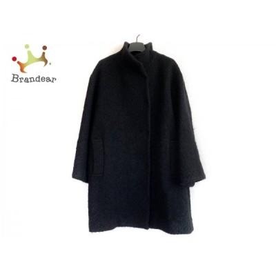 エポカ EPOCA コート サイズ40 M レディース - 黒 長袖/冬   スペシャル特価 20210122