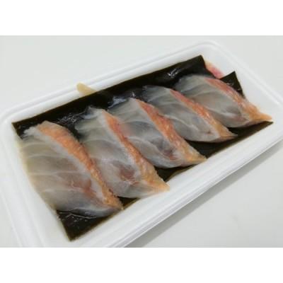 寿司ネタ 金目鯛湯引きスライス8g×10枚 のせるだけ 業務用 きんめたい すしねた 刺身用 生食用 海鮮丼