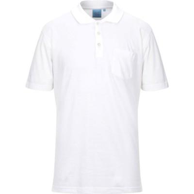 ダルミネ DALMINE メンズ ポロシャツ トップス Polo Shirt White
