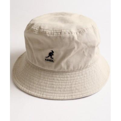 FUNALIVE / 【KANGOL】Washed Bucket ウォッシュド バケットハット MEN 帽子 > ハット