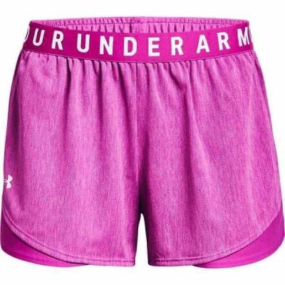 アンダーアーマー カジュアルパンツ ボトムス レディース Under Armour Women's Play Up 3.0 Twist Shorts 3 in Pink Dark 02