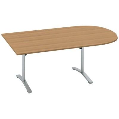 コクヨ品番 MT-VU211P81MP2-E 会議テーブル ビエナ 固定U字形天板 塗装脚アジャスター W2100xD1050xH720 ビエナ