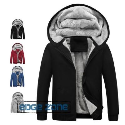 コーチジャケット メンズ ジャケット 裏起毛 ジップアップパーカー ブルゾン 大きいサイズ おしゃれ 防寒 暖かい 秋冬