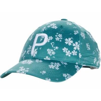 プーマ レディース 帽子 アクセサリー Floral Adjustable Cap Blue Spruce/Bri