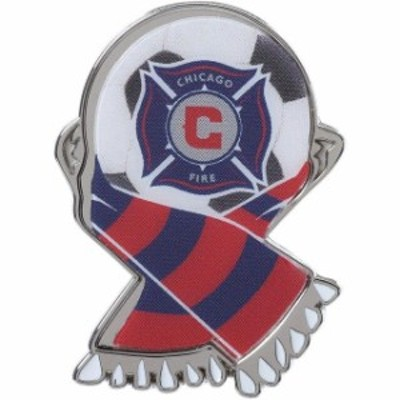 WinCraft ウィンクラフト スポーツ用品  WinCraft Chicago Fire Ball Thematic Pin