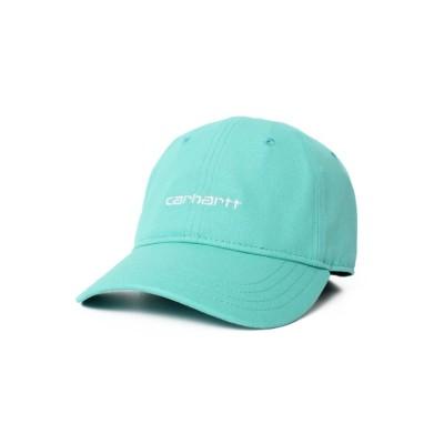 【オーバーライド】 carhartt CANVAS SCRIPT CAP ユニセックス ブルー O/S OVERRIDE
