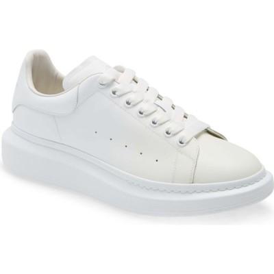 アレキサンダー マックイーン ALEXANDER MCQUEEN メンズ スニーカー シューズ・靴 Oversized Sneaker White/Blue