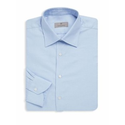 カナリ Men Clothing Classic Buttoned Cotton Dress Shirt