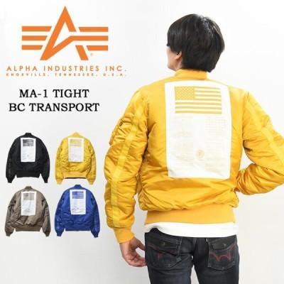 セール ALPHA アルファ MA-1 ジャケット ブラッドチット ジャパンフィット アウター メンズ フライトジャケット 秋冬用 送料無料 TA0141