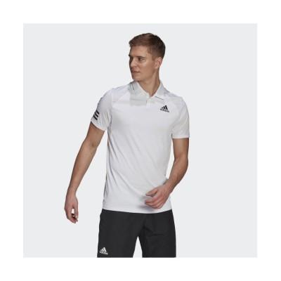 (adidas/アディダス)テニス クラブ 3ストライプス ポロシャツ / Tennis Club 3-Stripes Polo Shirt/メンズ ホワイト