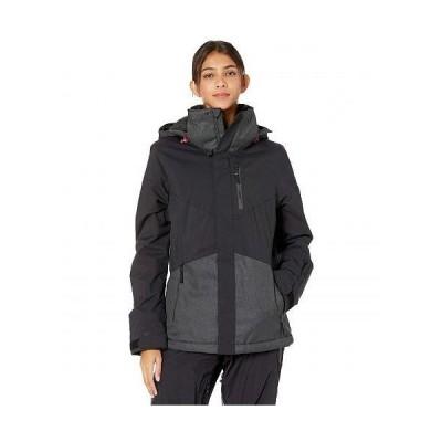 O'Neill オニール レディース 女性用 ファッション アウター ジャケット コート スキー スノーボードジャケット Coral Jacket - Dark Grey Melee