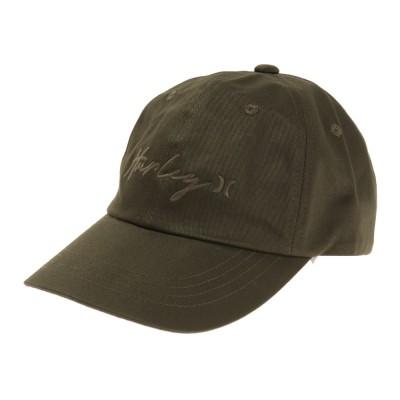 ハ-レ-帽子キャップ DAD SCRIPTY MHW2100002-CAKHカーキ