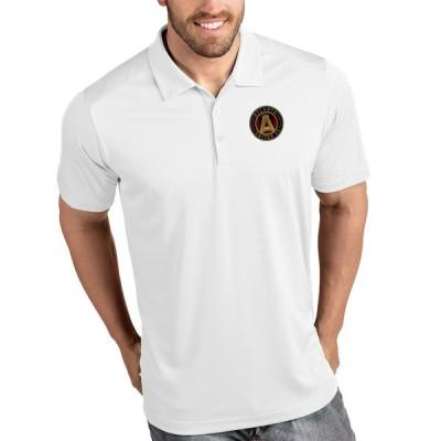 """メンズ ポロシャツ """"Atlanta United FC"""" Antigua Tribute Polo - White"""