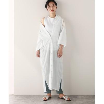 【ジャーナルスタンダード】  LONG SHIRTS DRESS:ワンピース レディース ブラック 38 JOURNAL STANDARD