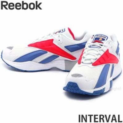 リーボック INTERVAL カラー:ホワイト/ブルーブラスト/ラディアントレッド