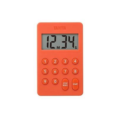 【2160円以上送料無料】タニタ TD415OR デジタルタイマー オレンジ