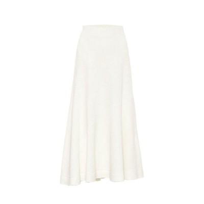 ジル サンダー Jil Sander レディース スカート Linen-blend skirt Natural