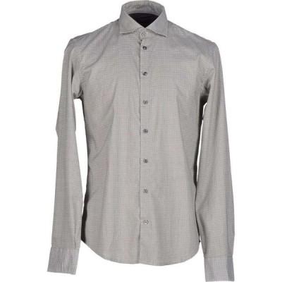 イエスズィー バイ エッセンツァ YES ZEE by ESSENZA メンズ シャツ トップス solid color shirt Lead