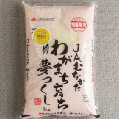 果物屋さんが選んだ米「夢つくし」5kg(中間市)