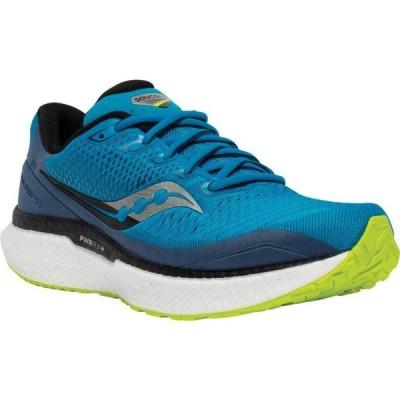 サッカニー Saucony メンズ ランニング・ウォーキング スニーカー シューズ・靴 Triumph 18 Running Sneaker Cobalt/Storm