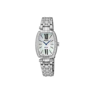 セイコー 腕時計 Seiko ソーラー Tressia SUP283 MOP ダイヤル ダイヤモンド ステンレス スチール レディース 腕時計