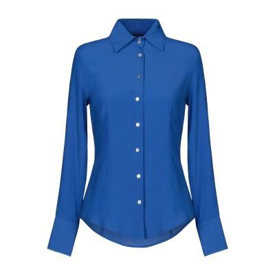 ブライアン デールズ BRIAN DALES シャツ ブライトブルー 40 アセテート 65% / シルク 35% シャツ
