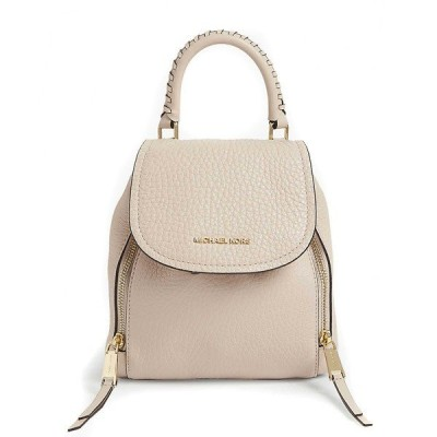 マイケルコース バックパック 30H9GVBB0L Michael Michael Kors Viv Extra-Small Pebbled Leather Backpack (Light Sand) VIV エクストラスモール バックパック