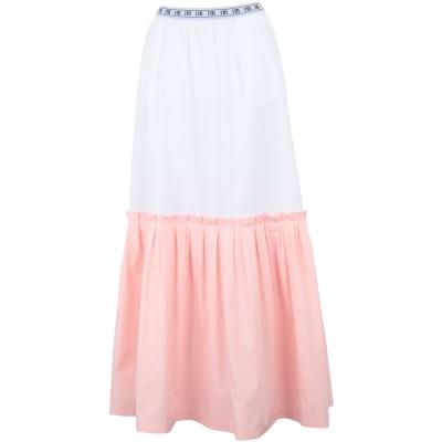 I'M ISOLA MARRAS ロングスカート ピンク 40 コットン 100% ロングスカート
