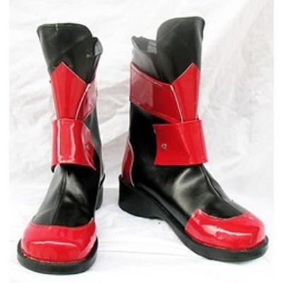 コスプレ靴 魔法少女リリカルなのは ヴィータ コスプレブーツm441
